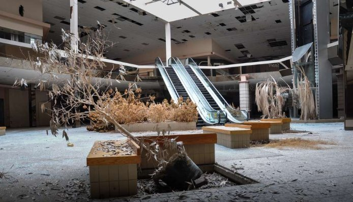 Falência dos Shoppings