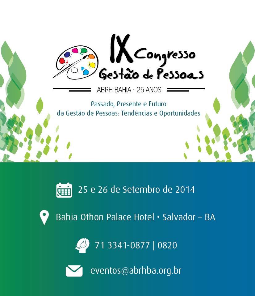 IX Congresso Gestão de Pessoas 1